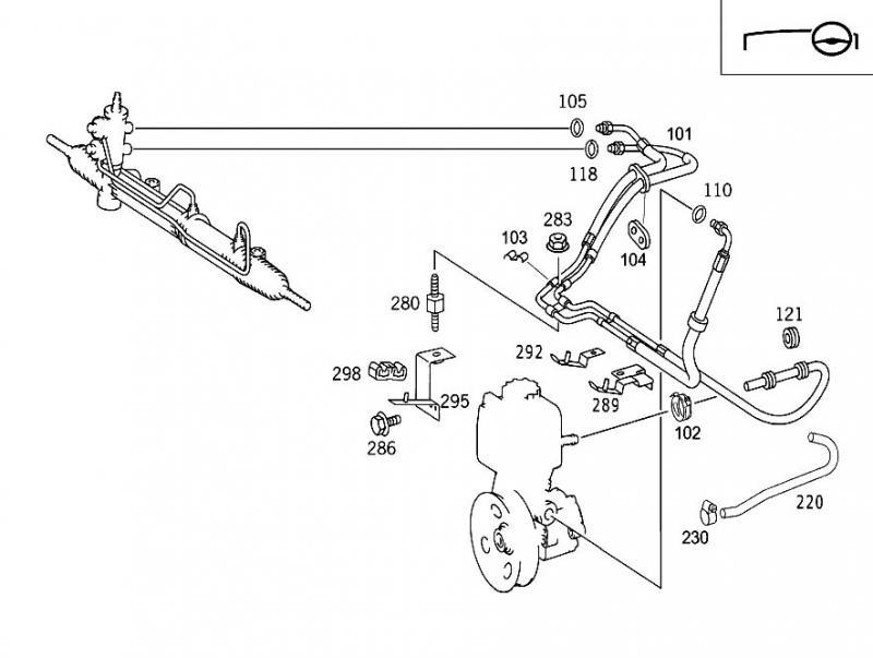 2000 ml320 power steering leak - page 7