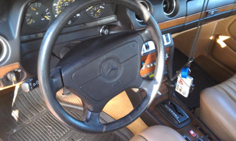 airbag w124 steering wheel in to w123 | Mercedes-Benz Forum