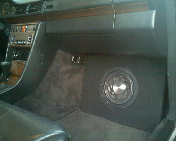 Pioneer Car Speakers >> subwoofer locations in W124? - Page 6 - Mercedes-Benz Forum