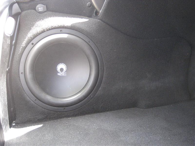 Selling Custom Fiberglass Subwoofer Box Mercedes Benz