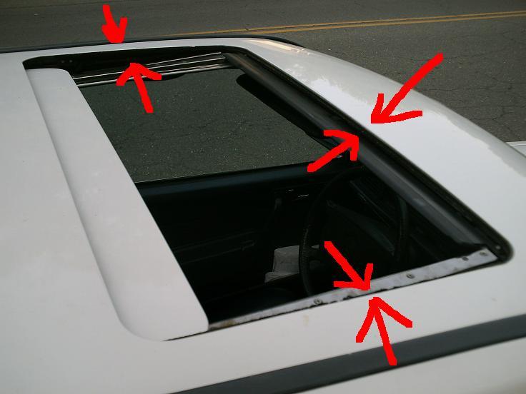 Sun Roof Seal Part Query Mercedes Benz Forum