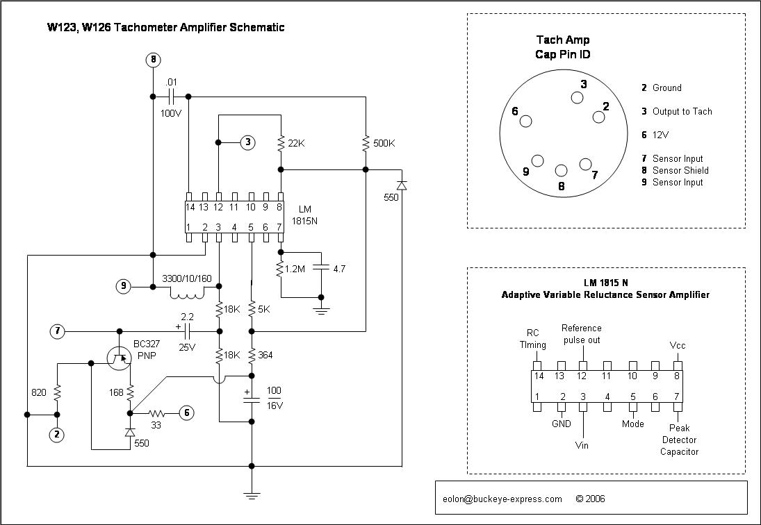 Tach Amp Dissection Mercedes Benz Forum Wiring Diagram 1985 300sd Click Image For Larger Version Name Tachamp23 Views 3638 Size
