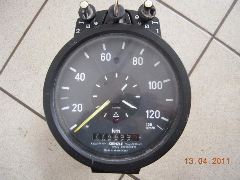 Kienzle 131437 Tachograph    wiring       diagram        Mercedes   Benz Forum