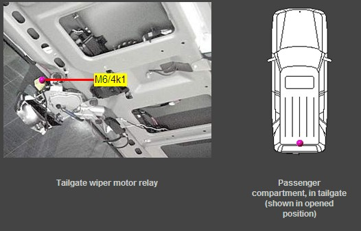Wiper Motor Wiring Diagram : Rear wiper not working mercedes benz forum