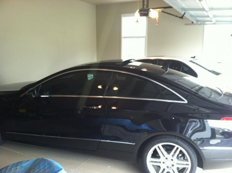 E 350 coupe window tint mercedes benz forum for Mercedes benz window tint