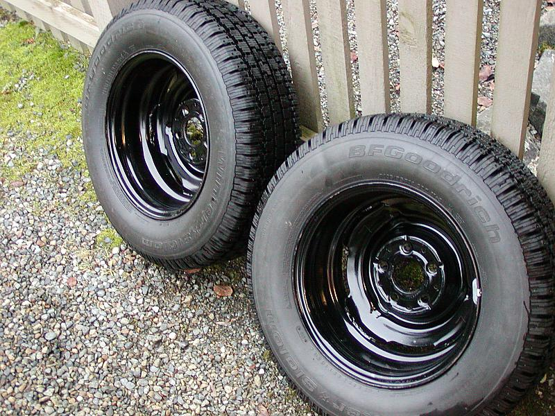 Winter Tires For Sale >> FS: 14-inch Whitewall Winter Tires and Steel Wheels ...