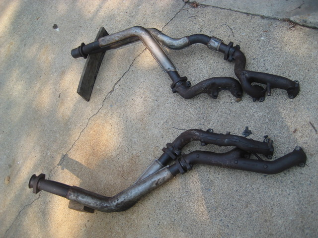 Posted A Complete Tri Y Exhaust Manifolds Downpipes