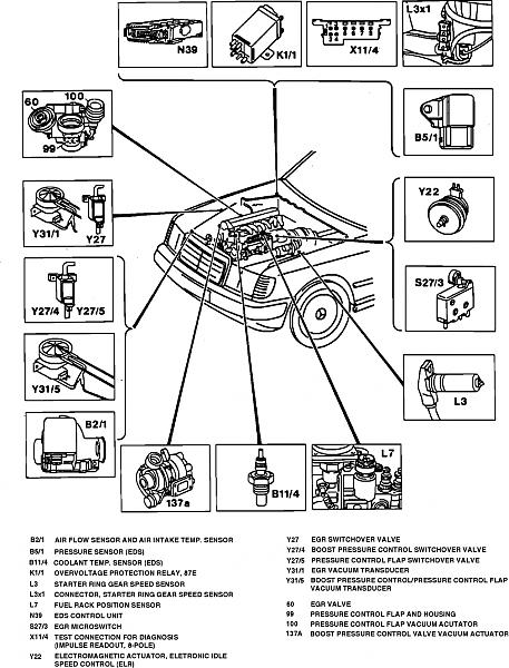 wiring diagram for a 1987 mercedes 300e
