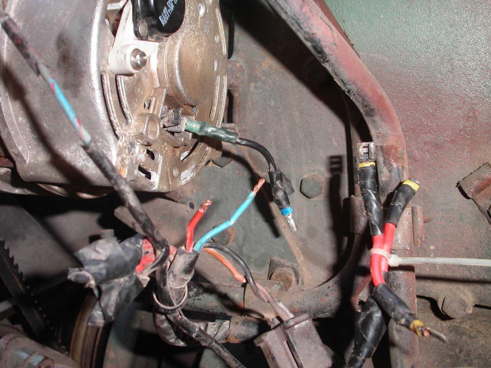 406 416 alternator wiring need help mercedes benz forum rh benzworld org 3 Wire Alternator Wiring mercedes alternator wiring diagram