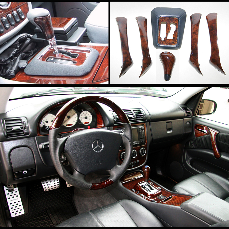 For SALE: Burl Wood interior upgrade set+ Passenger locking drawer - w163 Mercedes ML-untitled-2.jpg