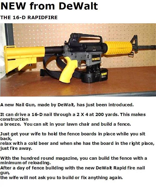 New Dewalt Nail Gun - Mercedes-Benz Forum