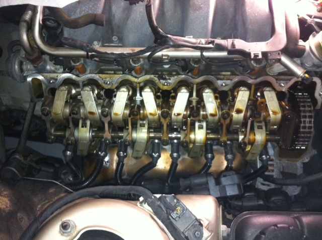 Valve cover gasket and breather cover sealant DIY | Mercedes