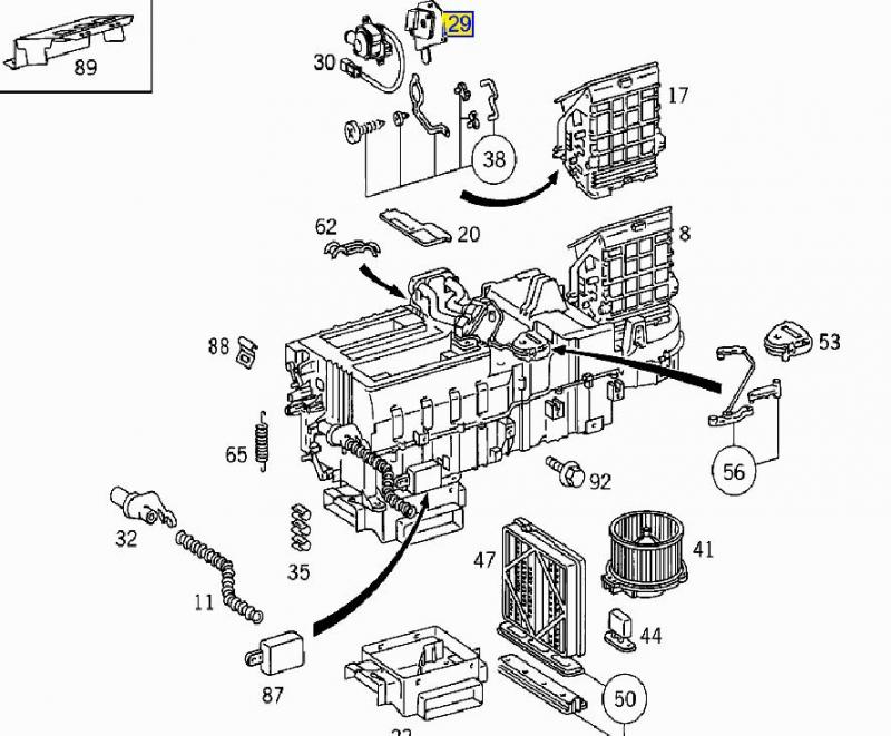 mercedes ml320 parts diagram