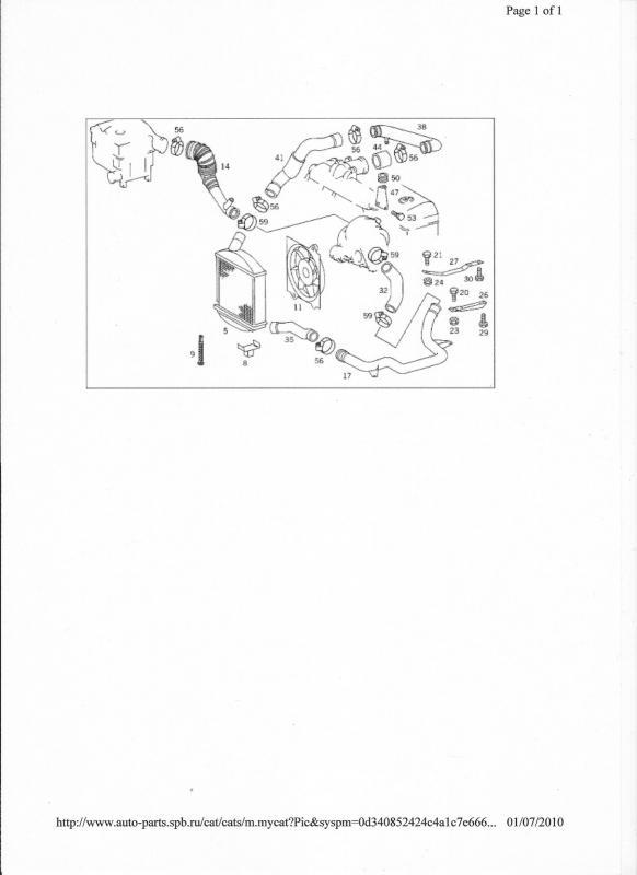 vito 110cdi turbo pipe work diagrams