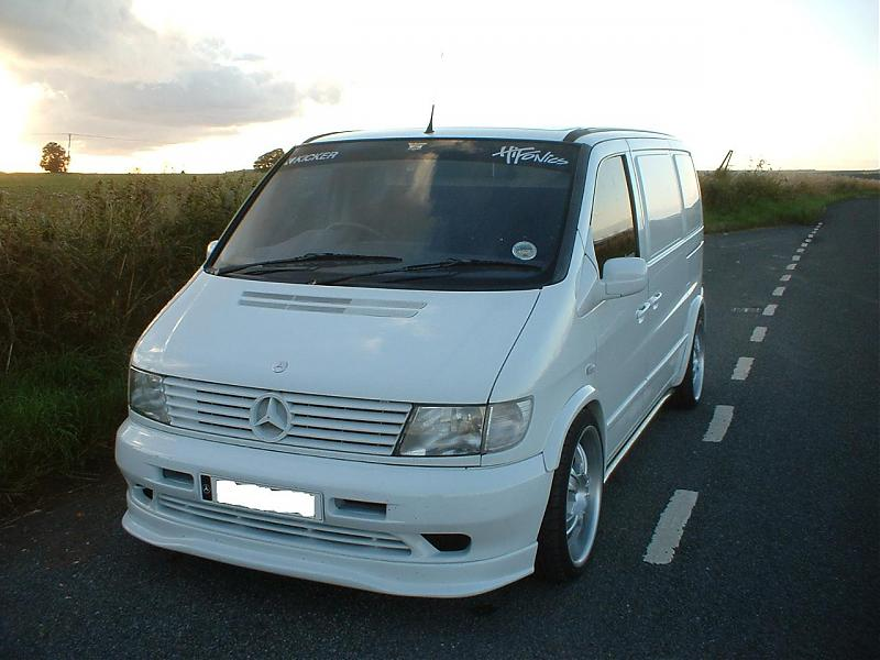 Connu V Pimping, Pimped Out Rides, Show Off Your Rides, Customising Vito  DP98