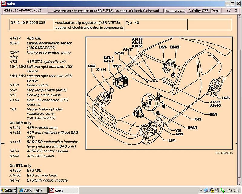 Abs Lateral Acceleration Sensor Mercedes Benz Forum