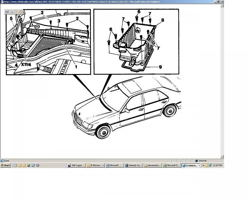 Mercedes W140 Wiring Problems - Wiring Diagram Img on