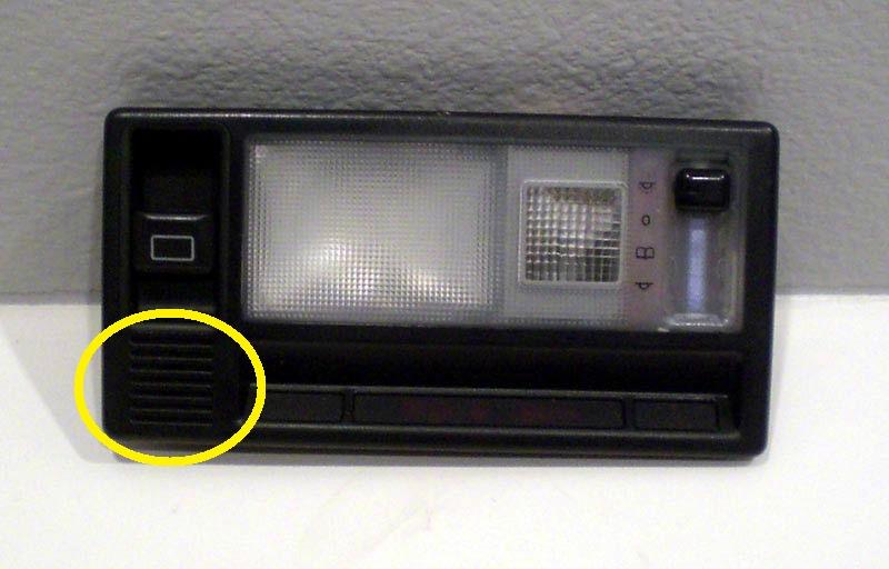 W210 Interior Temp Sensor