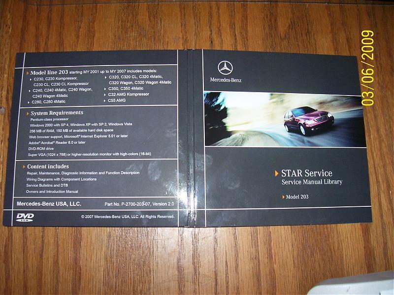 Mercedes benz repair manual 2002 c320 array w203 genuine mb star service dvd library mercedes benz forum rh benzworld org fandeluxe Choice Image