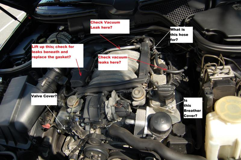 What are these under the hood? | Mercedes-Benz Forum