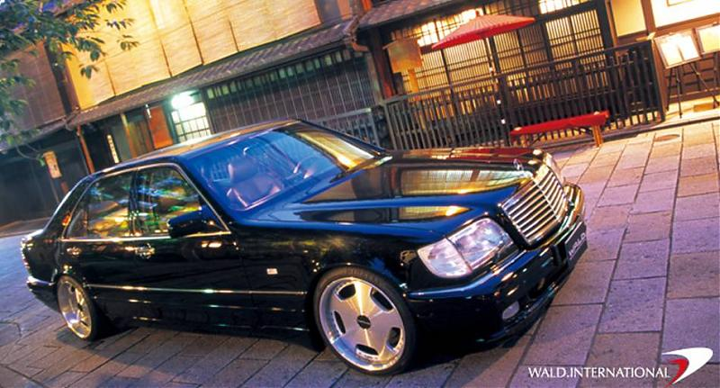 "2007 Wald Mercedes Benz S Class W220. I like the WALD ""Executive"
