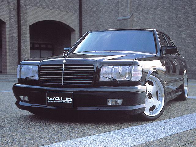 Mercedes W126 European Headlights