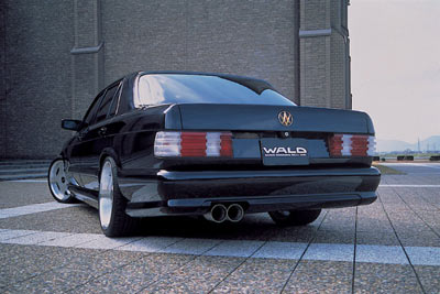 Planet d'Cars: 1997 Wald Mercedes-Benz W126 SEL