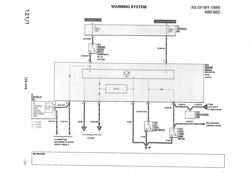 Dome Light Schematic Volvo - Diagrams Catalogue on