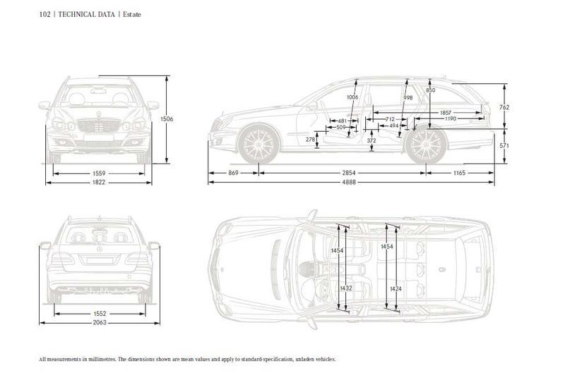 w211 wagon cargo dimensions mercedes benz forum. Black Bedroom Furniture Sets. Home Design Ideas