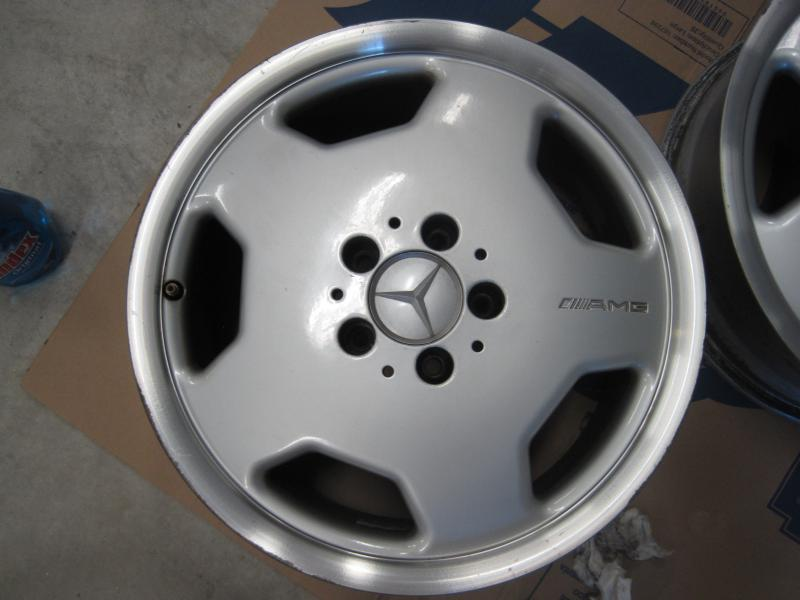 Mercedes Benz Amg >> FS: Set of four AMG 17inch AMG Monoblock wheels with staggered offset - Mercedes-Benz Forum