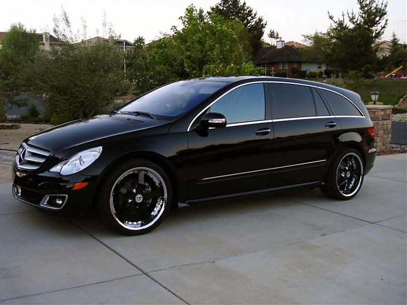 Triple Black R Lowered On 22 S Mercedes Benz Forum
