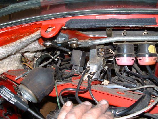 Turn Signal Flasher >> 86 560SL hazard flasher location? - Mercedes-Benz Forum