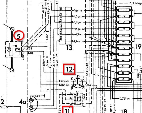 416 windshield wiper motor diagnosis mercedes benz forum rh benzworld org 2 Speed Wiper Motor Wiring Chevy Wiper Motor Wiring Diagram