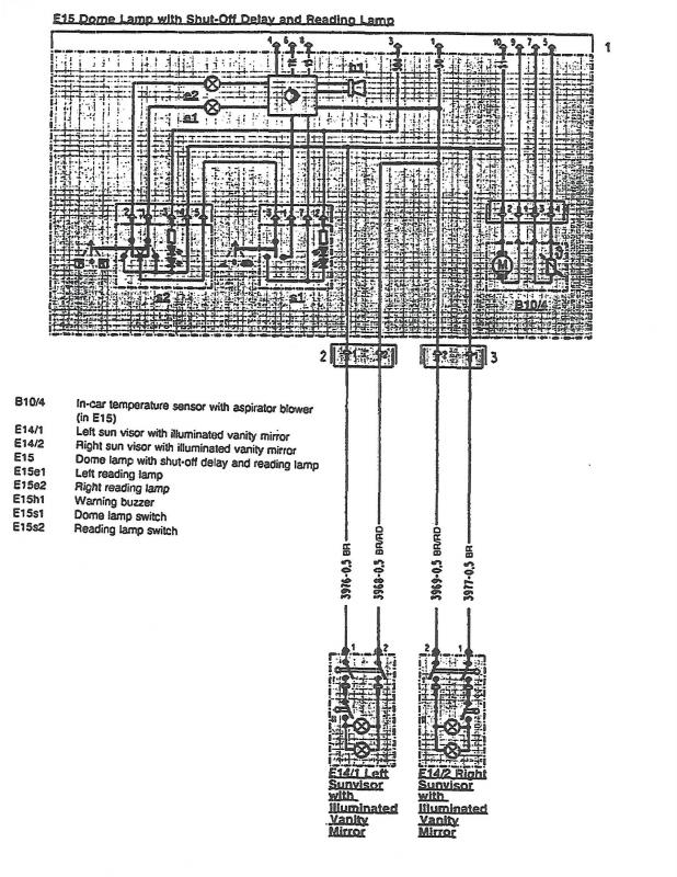 Wiring Diagram For Dome Light