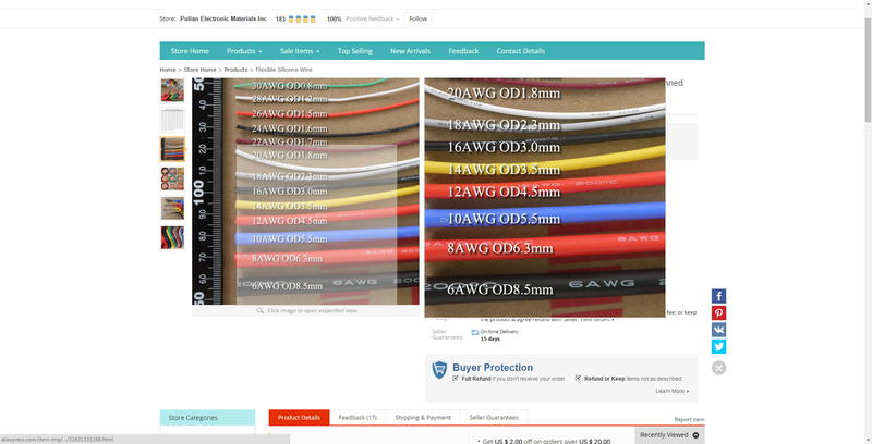 What wire gauge specs for eta throttle body harness rr click image for larger version name wire gauge chartg views 2517 size greentooth Images