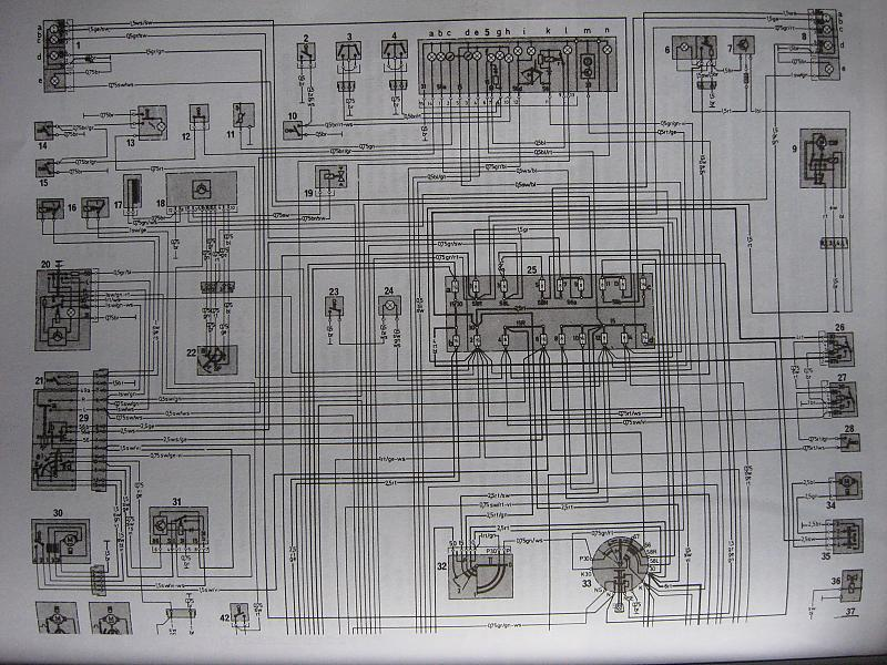 Electrical diagram for 79 240d MercedesBenz Forum
