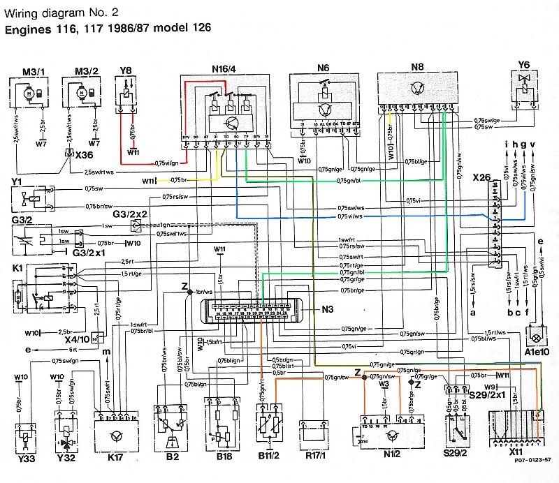 1986 560sel cold start problem mercedes benz forum rh benzworld org GE Electric Motor Wiring Diagram Electric Motor Starters Wiring Schematics