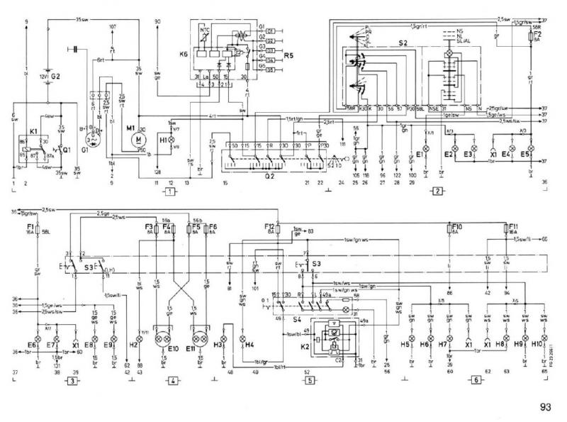 w460 speedometer wiring diagram