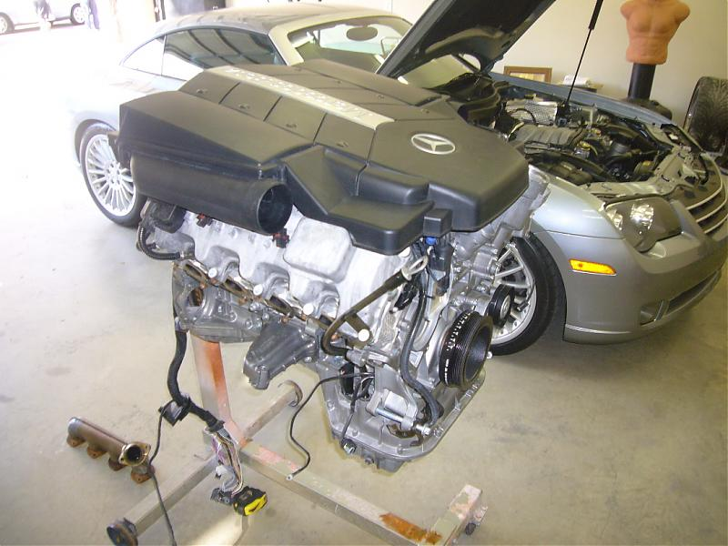 Mercedes Slk Engine Swap