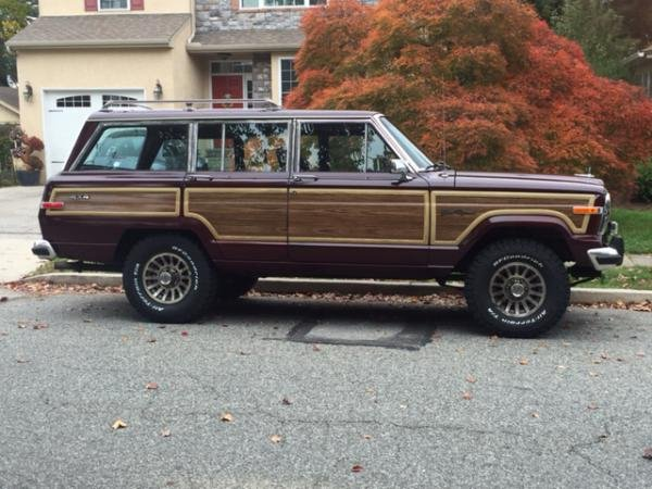 Showcase cover image for 1991 Jeep Grand Wagoneer