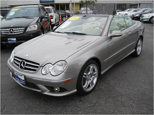 Showcase cover image for kejrr01's 2008 Mercedes-Benz CLK 550
