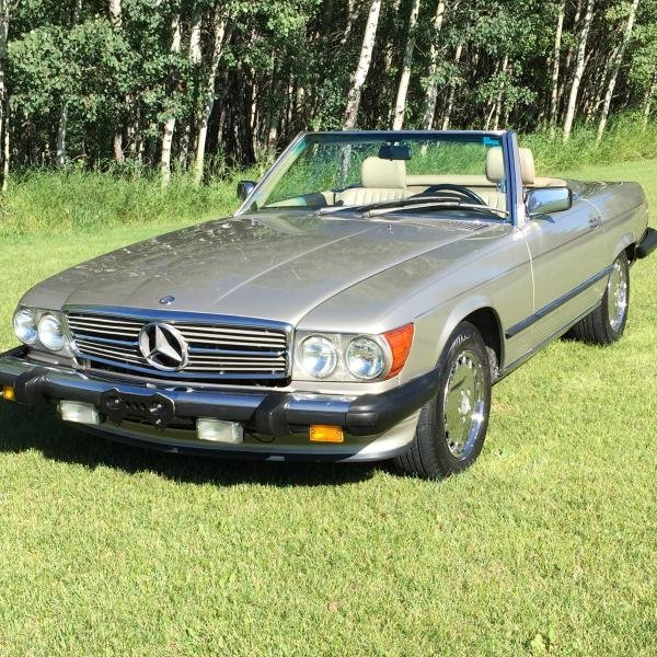 Showcase cover image for mikerae727@gmail.com's 1989 Mercedes-Benz 560SL