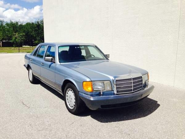 Showcase cover image for SOFLABenz's 1986 Mercedes-Benz 420SEL