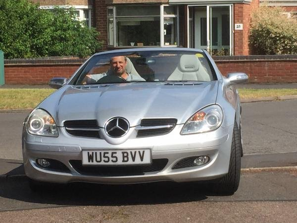 Showcase cover image for Steve Busby's 2005 Mercedes-Benz SLK280
