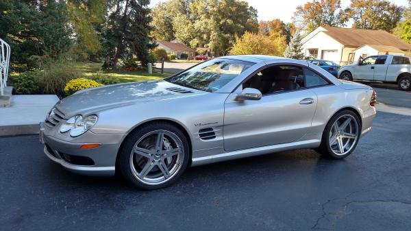 Showcase cover image for Vincent 732's 2003 Mercedes-Benz SL55 AMG