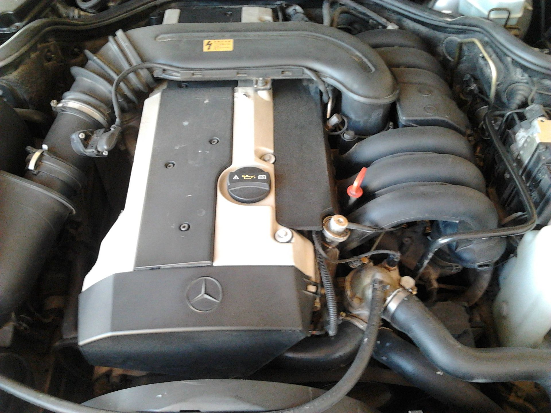 Pin-pointing Vacuum Leak    opinions needed  | Mercedes-Benz