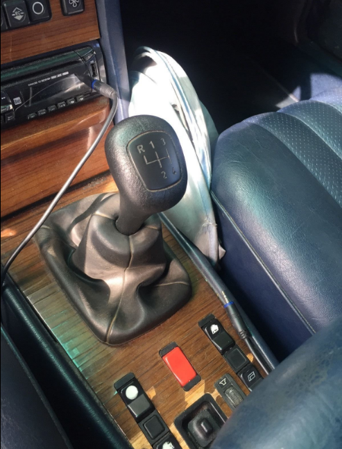 Manual Transmission Conversion For My 1984 300sd border=