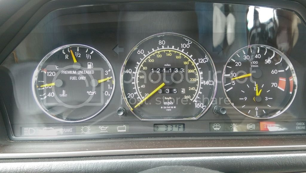 Correct idle speed for M104 | Mercedes-Benz Forum