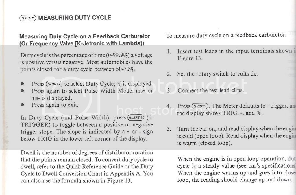 K-Jetronic air/fuel ratio total mess | Page 2 | Mercedes