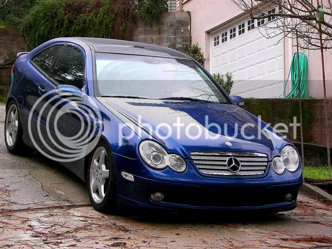 Lowering the C230 Kompressor Coupe | Mercedes-Benz Forum